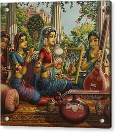 Purva Raga Acrylic Print by Vrindavan Das