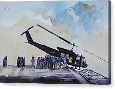 Pushover - South China Sea 1975 Acrylic Print