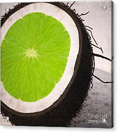 Put The Lime In The Coconut Acrylic Print by Philip G