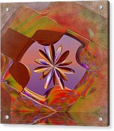 Puzzle Of Life Acrylic Print by Deborah Benoit