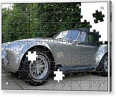 Puzzled Muscle Car Acrylic Print