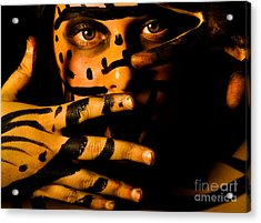 Acrylic Print featuring the photograph Pw Rp005 by Kristen R Kennedy