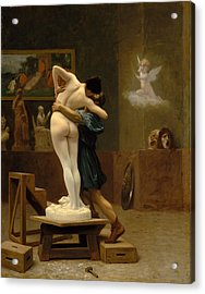 Pygmalion And Galatea Acrylic Print