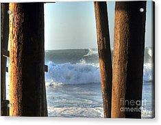 Pylon Surfer Acrylic Print