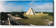 Pyramid Chichen Itza Mexico Acrylic Print by Panoramic Images