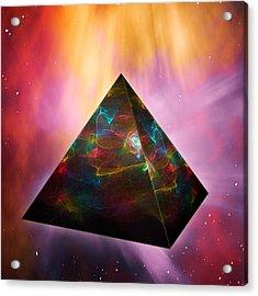 Pyramid Of Souls Acrylic Print