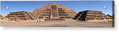 Pyramid Of The Moon Panorama Acrylic Print by Sean Griffin
