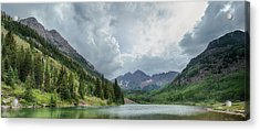 Pyramid Peak And The Maroon Bells Acrylic Print