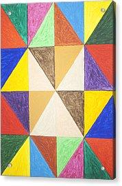 Pyramids 2 Acrylic Print by Stormm Bradshaw
