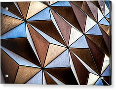 Acrylic Print featuring the photograph Pyramids  by Joshua Minso