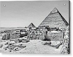 Pyramids  Acrylic Print