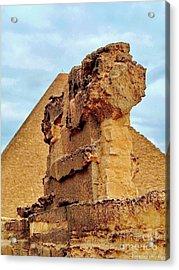 Pyramid's Temple  Acrylic Print