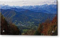 Pyrenean View Acrylic Print by John Topman