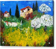 Pyrenees Farm  Acrylic Print