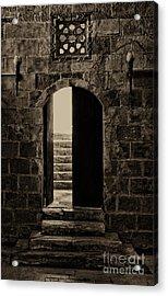 Qalawun Doorway Cairo Acrylic Print