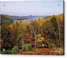 Quabbin Reservoir Acrylic Print by Michelle Welles