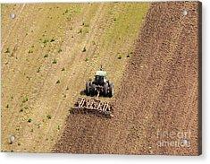 Quad Tractor Acrylic Print by John Ferrante