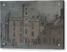 Quadrangle Edinburgh Castle Acrylic Print