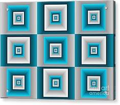 Quadrant  14 Acrylic Print