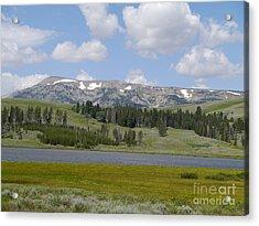 Quadrant Mountain - Gallatin Range Acrylic Print