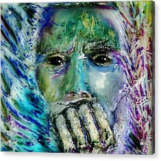 Quadro Inverso Acrylic Print by Bob Money