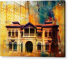 Quaid -e Azam House Flag Staff House Acrylic Print by Catf