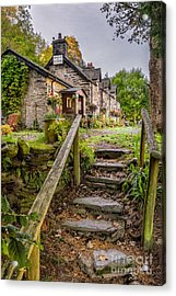 Quaint Tea Room Acrylic Print by Adrian Evans