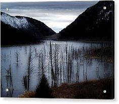 Quake Lake Acrylic Print