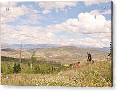 Acrylic Print featuring the photograph Quality Time by Shirley Heier