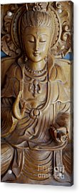 Quan Yin Compassion Acrylic Print by Dorothy Berry-Lound