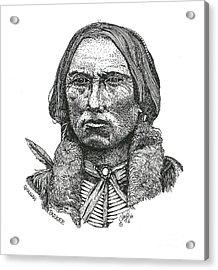 Quanah Parker Acrylic Print
