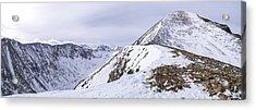 Quandary Peak Panorama Acrylic Print