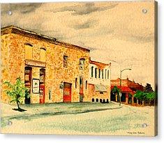 Quantrill's Flea Market - Lawrence Kansas Acrylic Print by Mary Ellen Anderson