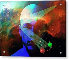 Quantum Information Acrylic Print by Carol & Mike Werner