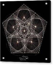 Quantum Star II Acrylic Print
