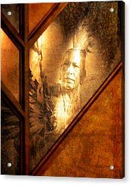 Quapaw Pride Acrylic Print by Deena Stoddard