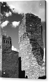 Quarai At Salinas Pueblos Mission Nm Acrylic Print by Christine Till