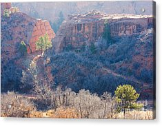Quarry At Red Rocks Open Space Acrylic Print