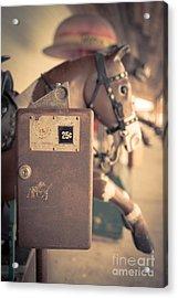 Quarter Horse Acrylic Print by Edward Fielding