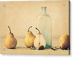 Quartet Acrylic Print by Amy Weiss