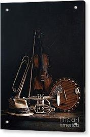 Quartet No.2 Acrylic Print by Larry Preston