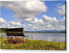 Acrylic Print featuring the photograph Quartz Lake by Cathy Mahnke