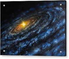 Quasar Acrylic Print by Don Dixon