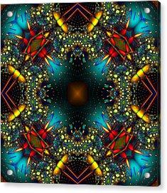 Quasar Kaleidoscope No 1 Acrylic Print