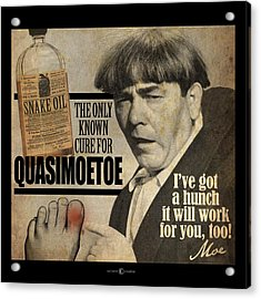 Quasimoetoe Poster Acrylic Print
