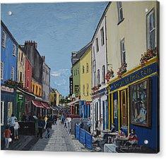 Quay St Galway Ireland Acrylic Print