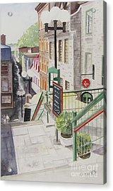 Quebec City Acrylic Print