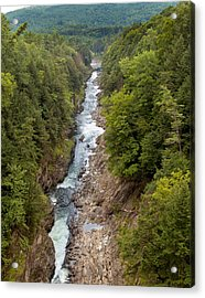 Quechee Gorge State Park Acrylic Print