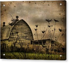 Queen Anne's View Barn Collage Acrylic Print by Gothicrow Images