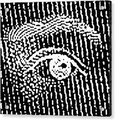 Queen Elizabeth's Eyes Acrylic Print